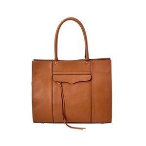 Rebecca Minkoff Large MAB brown leather tote